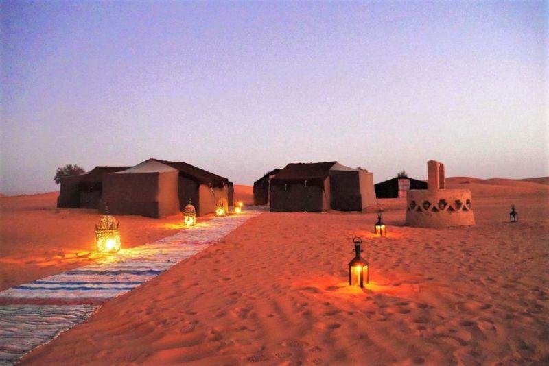 Erg Chebbi Desert Camp Morocco