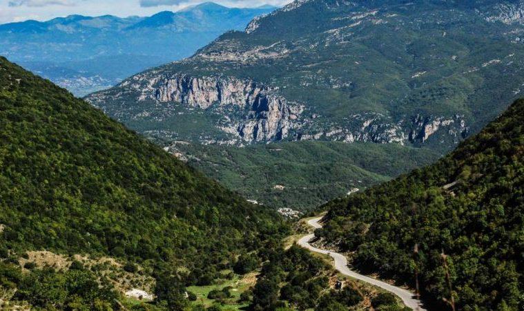 Landscape in Greece