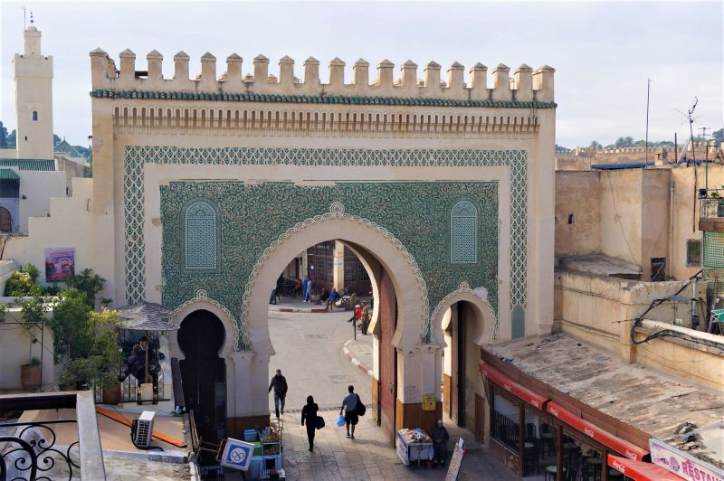 Medieval city Fez in Morocco