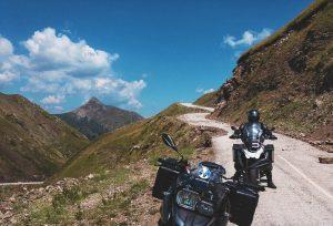 Mountain road Greece