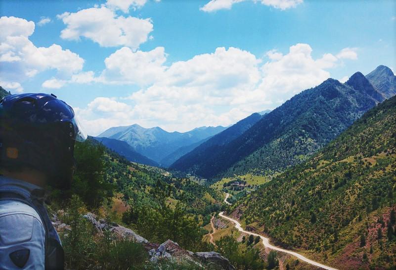 Mountainous landscape view Greece
