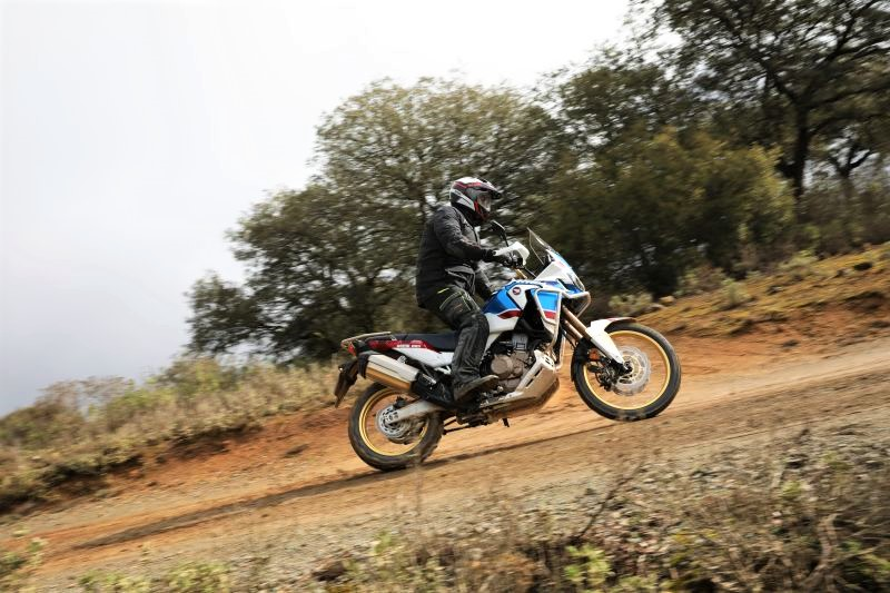 The new Honda Africa Twin Adventure Sports in action