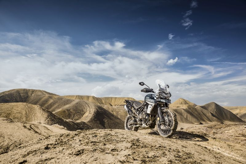 Triumph Tiger 800 off-road