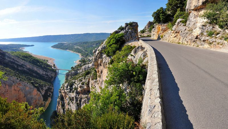 Verdon Gorge Road France