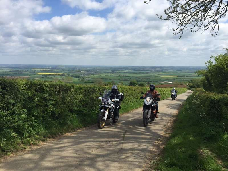 ABR festival road ride-out