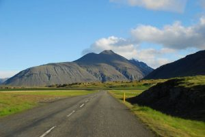 Iceland road Route One
