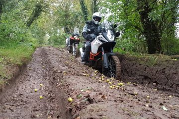 Off-road motorcycling