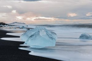 Vatnajokull National Park Iceland, diamond beach