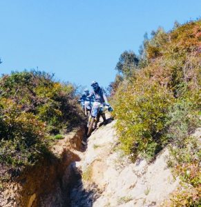 Rut riding in Portugal