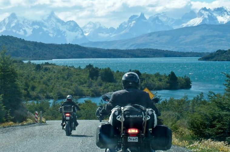 Approaching Torres del Paine
