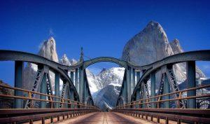 Bridge in Argentina