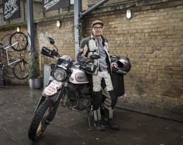 Henry before around the world ride