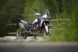 Honda Africa Twin adventure motorcycle
