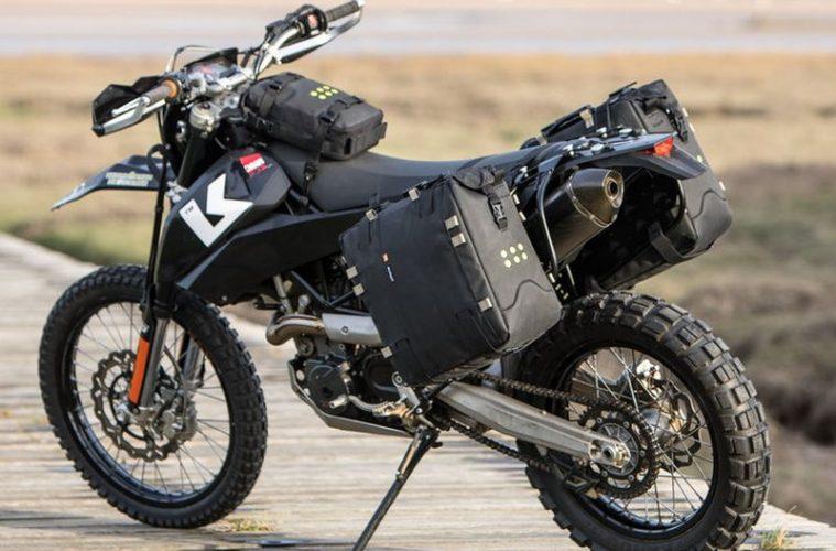 Kriega OS-32 soft pannier motorcycle