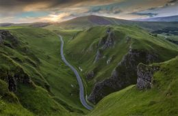 Winnats Pass Peak District