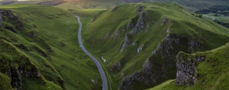 Winnats Pass Peak District