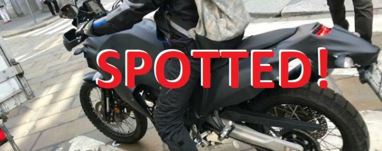 Yamaha Tenere 700 protoype spotted
