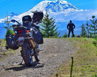 adventure bike riding