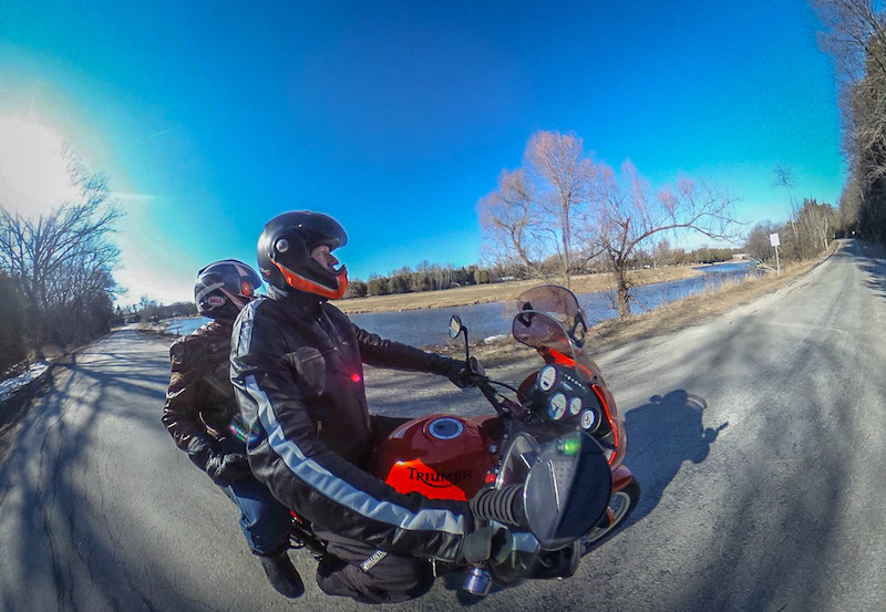 Motorbike 360 photography