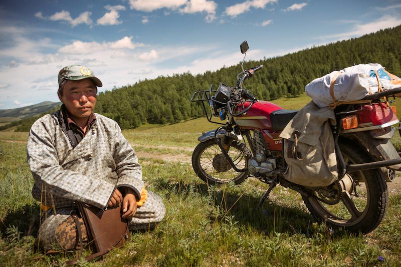 Park ranger Mongolia