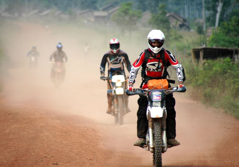 Dancing roads cambodia dirt bike tours