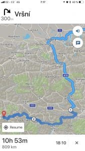 alpine passes screenshot map view