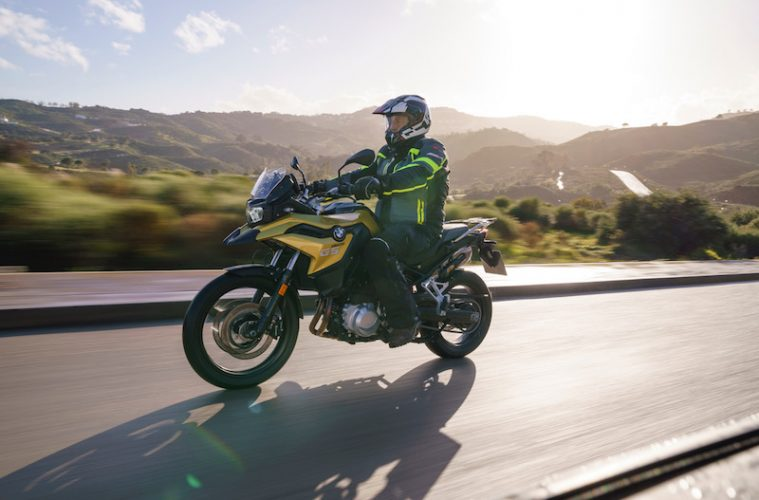 BMW F750GS motorcycle