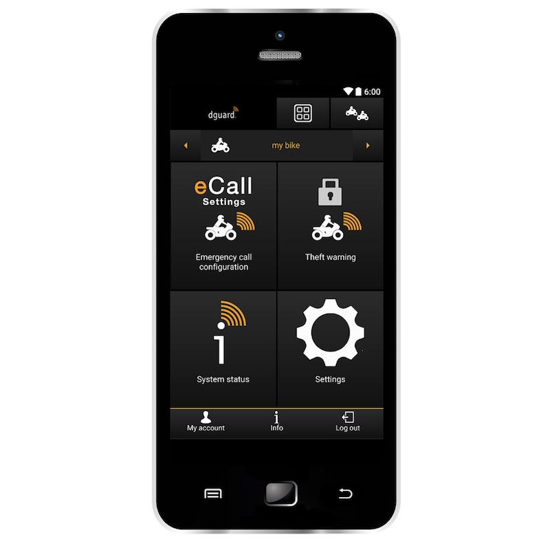 D-Guard app