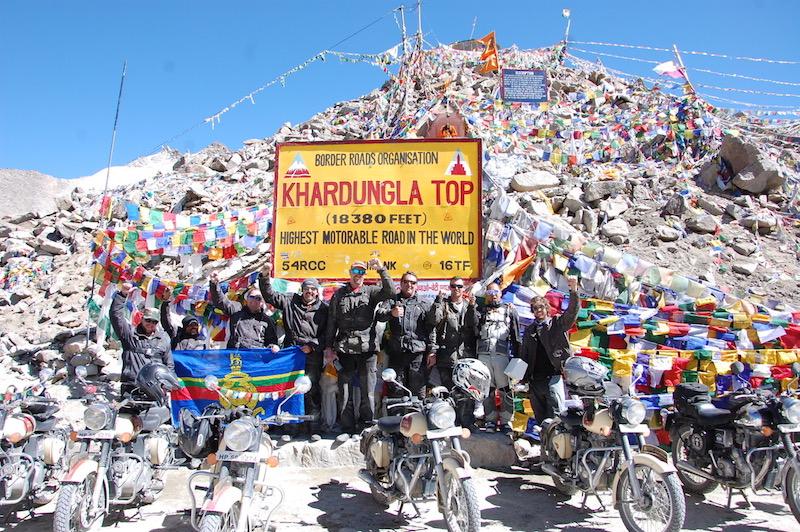 Khardungla top India