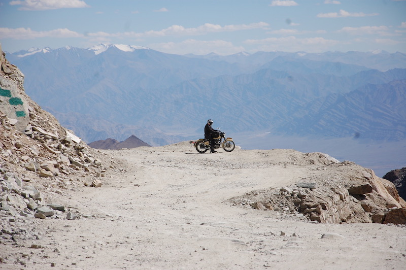 Royal Enfield mountains India