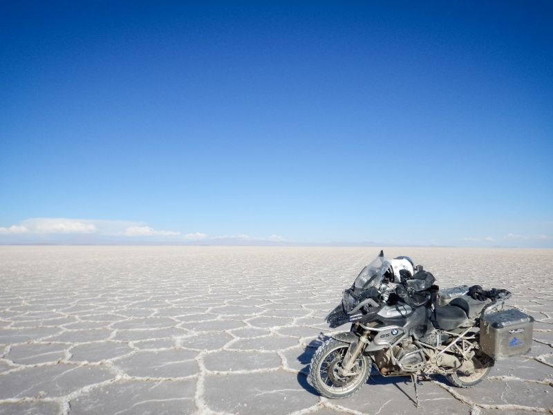 ride in South America - salar de uyuni 1