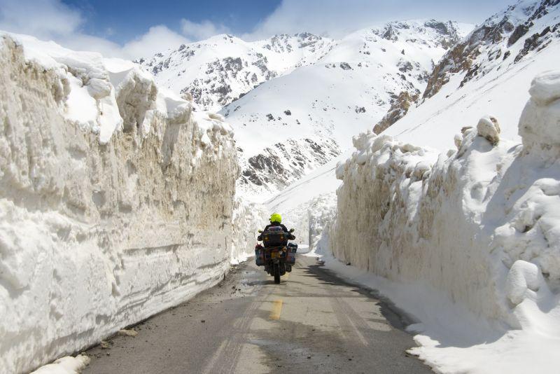 pakistan china border motorcycle