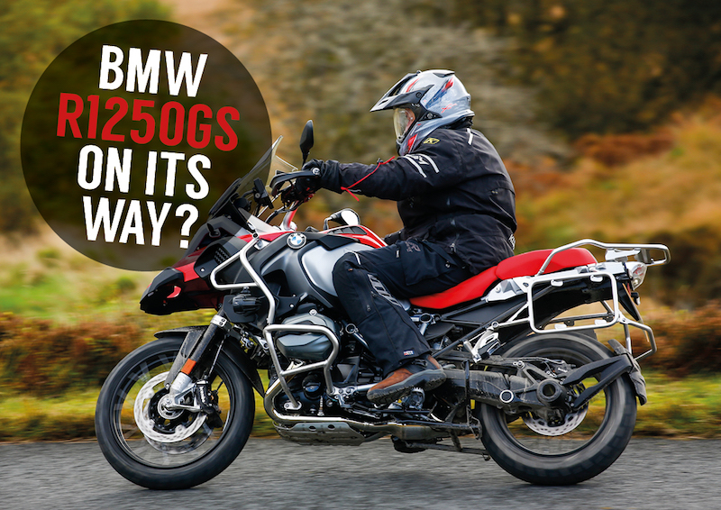 The New Bmw R1250gs Is On Its Way For 2019 Adventure Bike Rider