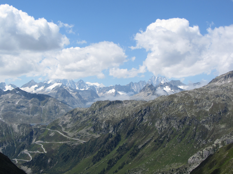 Grimsel mountain pass