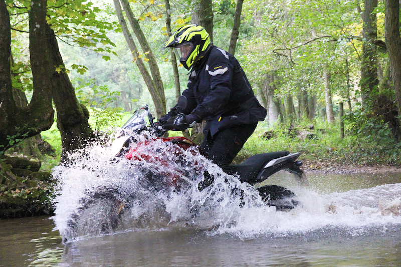 Honda CB500X Rally Raid off-road