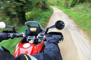 Honda CB500X Rally Raid on road