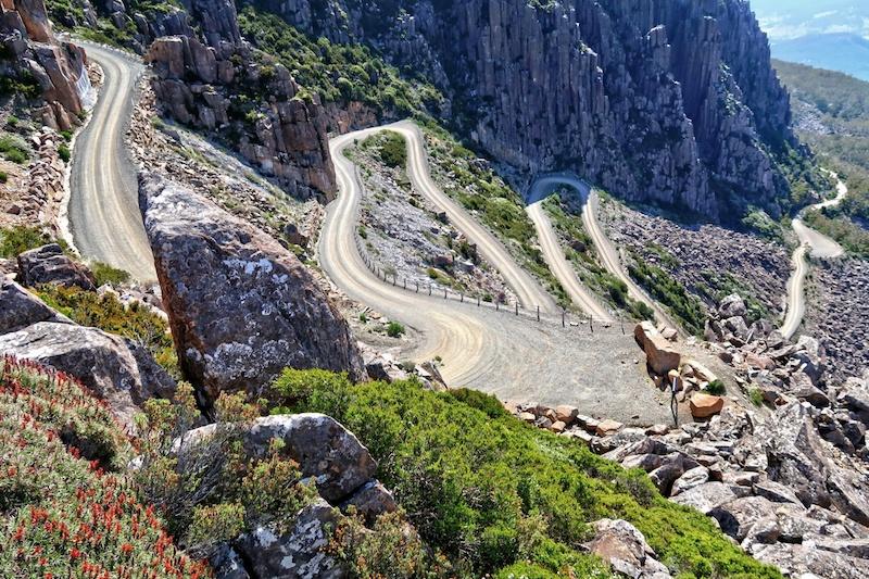 Jacob's Ladder in Tasmania a mountain pass
