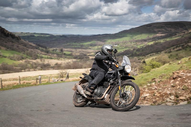 motorcycle review Royal Enfield Himalayan 2018