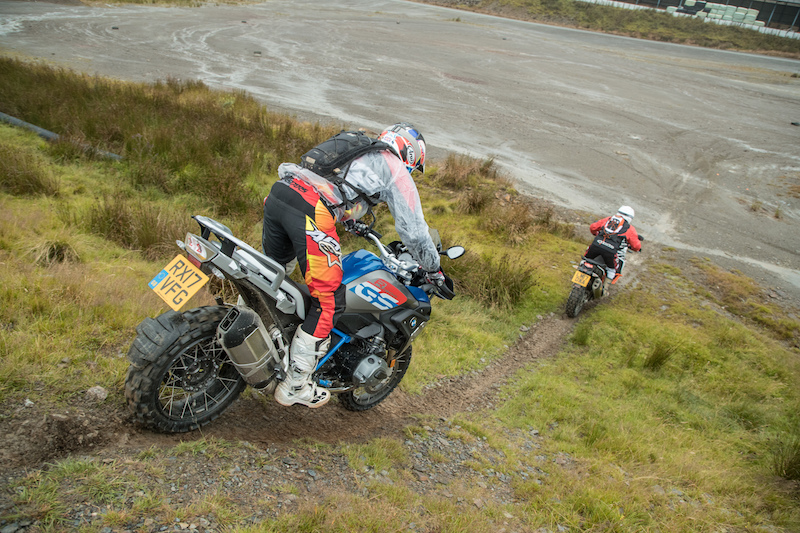 off-road motorcycle course skills