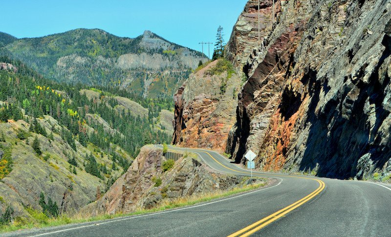 Red Mountain Pass Million Dollar Highway Colorado