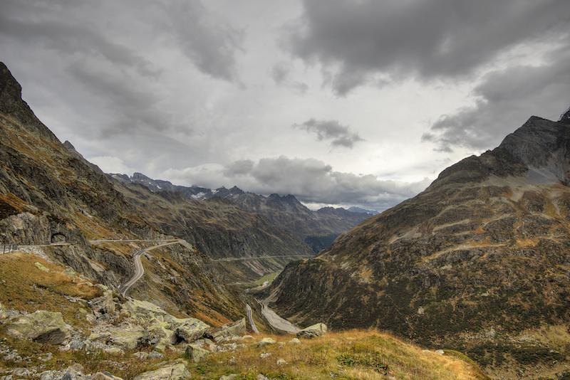 Road Susten Pass