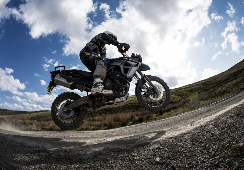 Sweet Lamb Adventure motorcycle course Wales