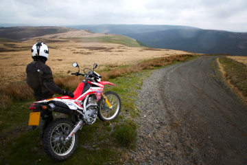 Sweet Lamb off-road motorcycle course