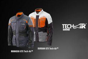 KTM set in motion new airbag jacket