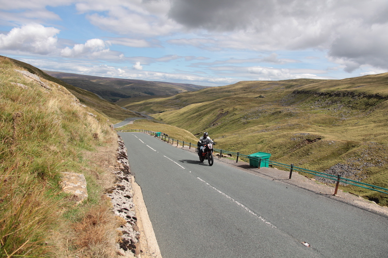Buttertubs Pass in the Yorkshire Dales