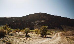 Trail riding in morocco through anti-atlas mountains
