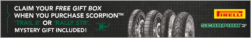 Pirelli Scorpion Banner
