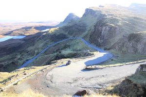Quairaing road Isle of Skye