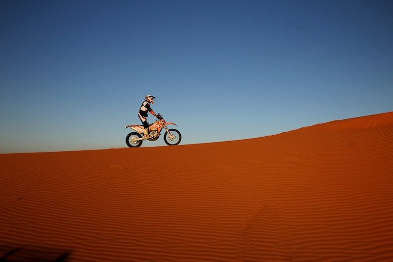sahara desert trail riding in morocco