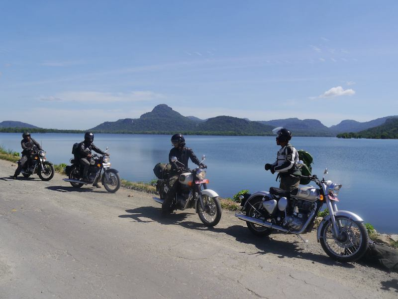 Motorcycle tour of Sri Lanka on Royal Enfield motorcycles
